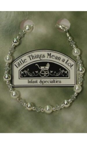 Pearl and Silver Bracelet