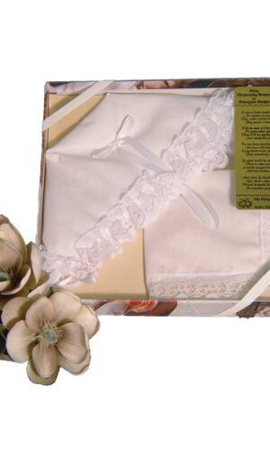 Christening Bonnet to Trousseau Hankie – Narrow Lace